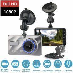 Camera Hành Trình Ống Kính Kép 4Inch Hd 1080P Cho Xe Hơi Đầu Ghi Hình Camera Trước Và Sau 170 Cho Xe Hơi