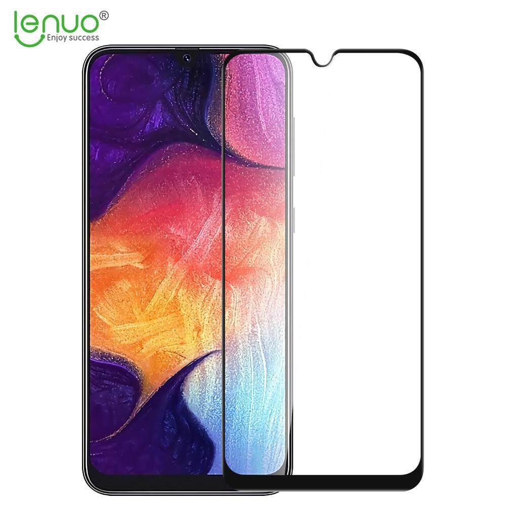 Lenuo Tempered Glass for Samsung Galaxy A50 and A30 and M30 and A20 Full Cover Screen