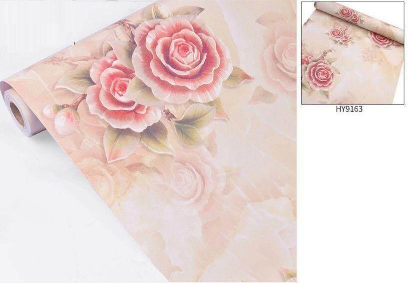 9163 Retro rose wallpaper 45cm*10meter