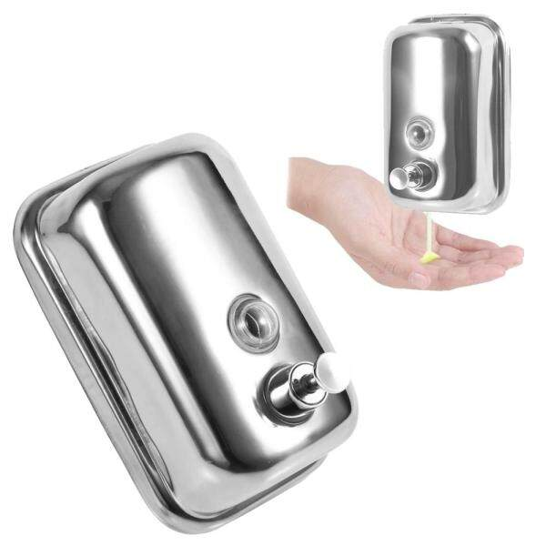 Stainless Steel Wall Mounted Shampoo Soap Pump Dispenser 800 ML