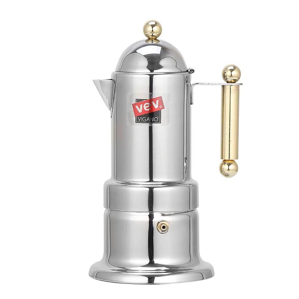 Nhà Thông Minh Thép không gỉ Ý Moka Espresso Maker Percolator Nồi Cà Phê Máy Hút