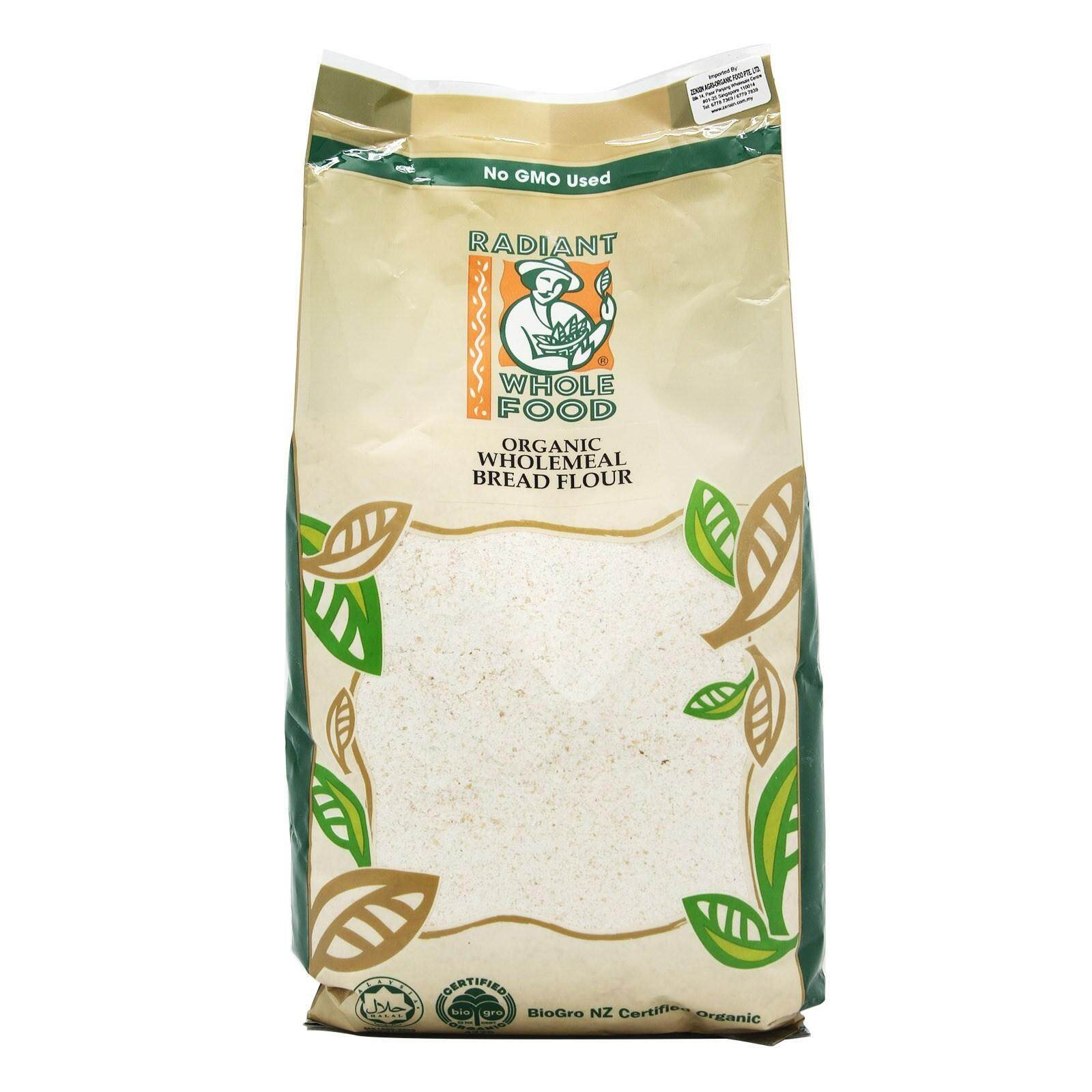 Radiant ORGANIC WHOLEMEAL BREAD 1KG