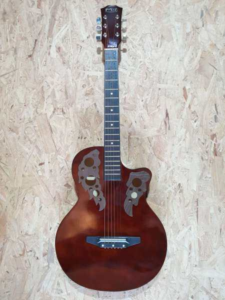 Mito PF38-WA Walnut 38 Inch Wings Series Acoustic Guitar [Sound From Germany] # Taylor Yamaha F310 Ibanez Fender Gibson Fiber Back Design Malaysia