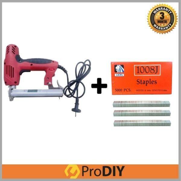 1022J Professional Pro Electric Stapler Gun + 1008J 5,000pcs Staples