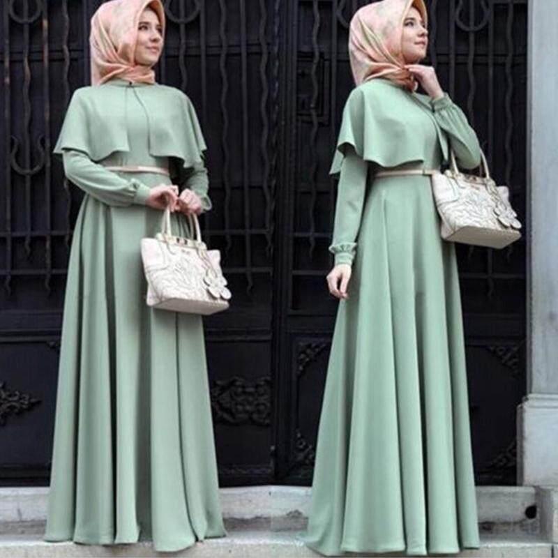 Women Maxi Dress Baju Raya Muslim Wear Jubah Muslimah Kurung 1c0bfaa4dd