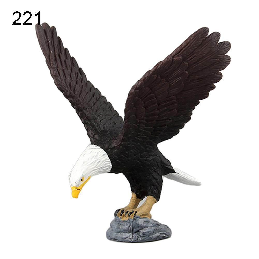 Sanwood® Simulation Owl Bird Animal Model Figurine Kids Educational Toy Table Ornament