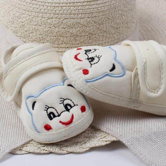 Giày tập đi cho bé trai bé gái hình hoạt hình đế mềm chống trơn trượt 3 màu sắc để lựa chọn - INTL giá rẻ