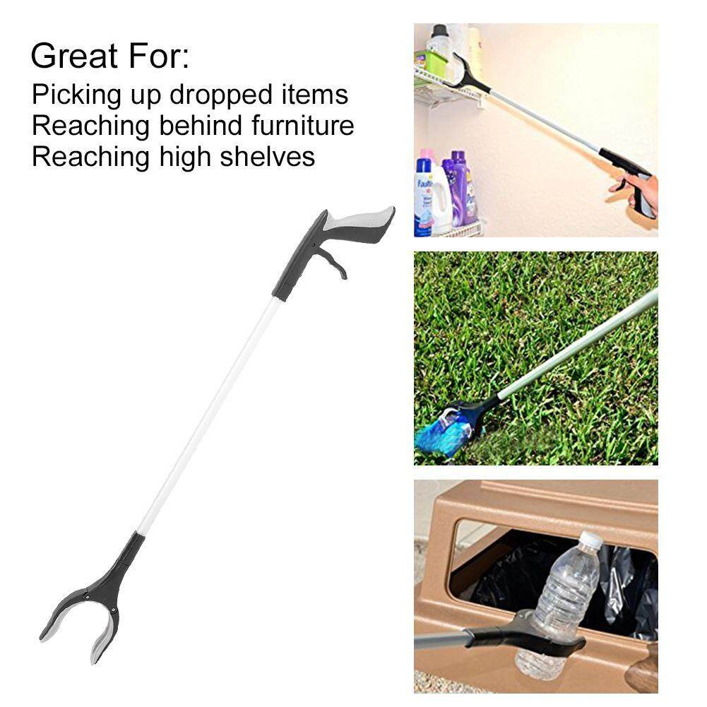 Rotating Grabber Pick Up Tool Non-slip Long Reacher Reaching Assist Mobility Aid