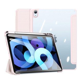 Bao Da Máy Tính Bảng, Ốp Cho iPad Air 4 10.9 2020 A2324 A2072 A2325 A2316, Đánh Thức Giấc Ngủ Thông Minh Với Giá Đỡ Bút Chì Giá Đỡ Gấp Ba Mặt Sau Trong Suốt thumbnail
