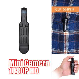 BolehDeals HD Video DVR Camera Đêm IR Máy Quay Chuyển Động, Camera Cơ Thể Cảnh Sát, W Clip thumbnail