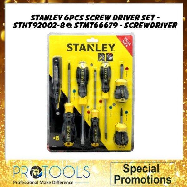Stanley STHT92002-8 / STMT66679 (NEW) 6pcs Screw Driver Set
