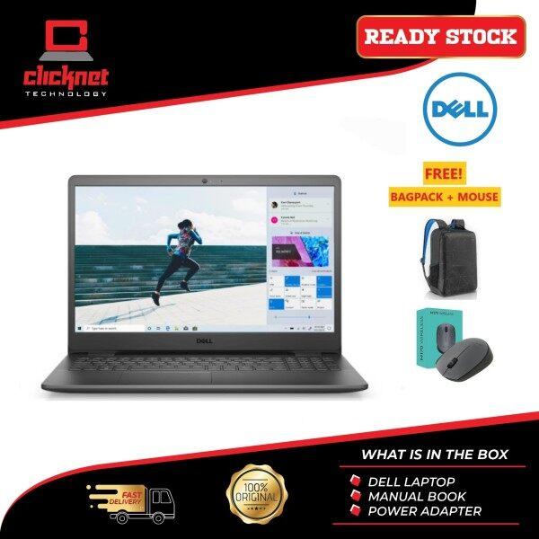 Dell Inspiron 15 3000 Laptop (3501) 15.6  FHD Black i5-1135G7, 4GB, 256GB SSD, Nvidia MX330 2GB, W10 1 Year Warranty Malaysia