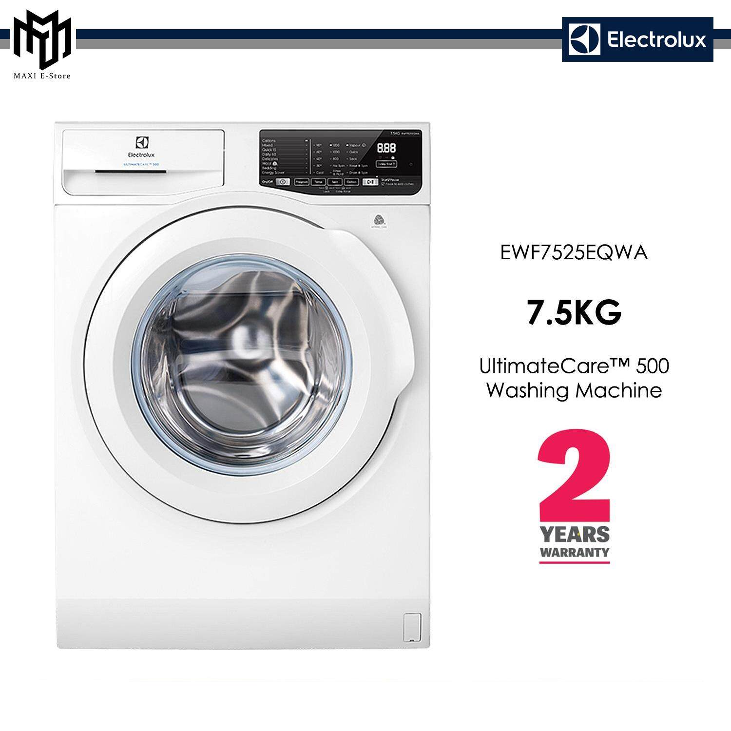Electrolux 7.5kg UltimateCare 500 Front Load Washing Machine - EWF7525EQWA