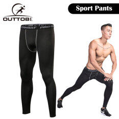 Outtobe Sports Tights Fast Dry Leggings Compression Tights Cool-Dry Pants Running Leggings Gym Quick-drying Fit Training Jogging Pants Men