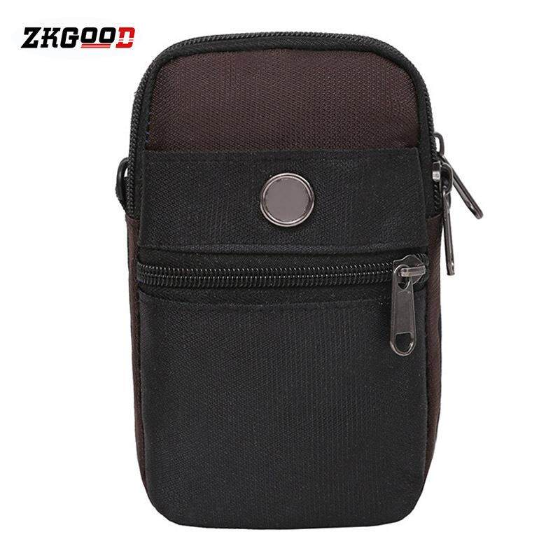 99c16b304fc6 zkgood Men Small Sport Travelling Bag Outdoor One-shoulder Waist Pouch