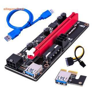 Ver009S Bộ Chuyển Đổi Thẻ Riser USB 3.0 PCIe 1X Sang 16X, Cáp Nguồn SATA 15Pin Đến 6Pin Linh Kiện Máy Tính thumbnail