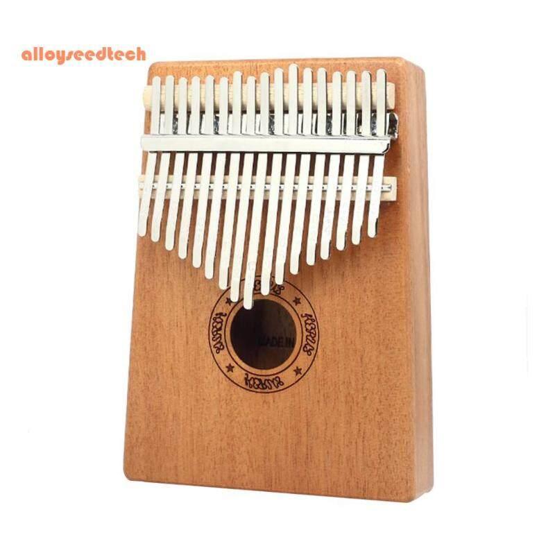 Piano Ngón Tay Gỗ Đàn Kalimba 17 Phím Với Dụng Cụ Hiệu Chỉnh Đàn