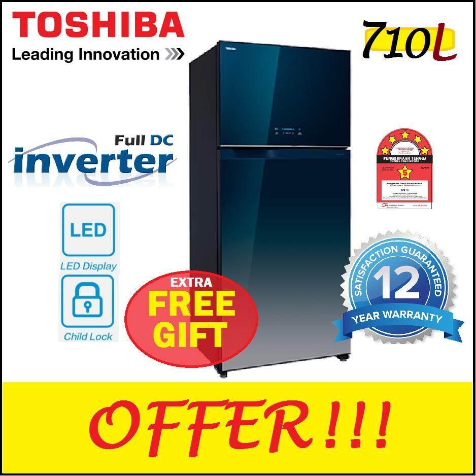 TOSHIBA GR-WG76MDAZ 710L Fridge Auto Ice Maker Refrigerator