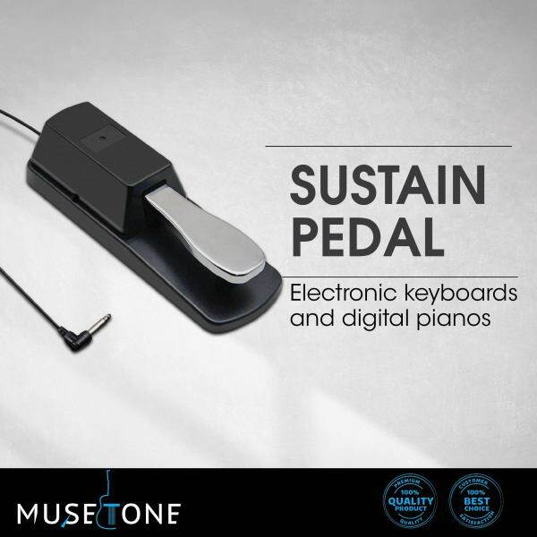 Digital Piano & keyboard Sustain pedal suitable for all type of keyboard and digital piano Malaysia