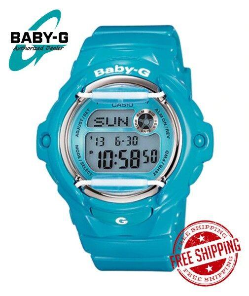 (RAYA SALES) Official Marco Warranty CASIO BABY-G BG169R 2B 100% ORIGINAL Malaysia