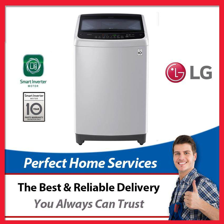 LG New 11KG (T2311VS2M) Smart Inverter Top Loading Washing Machine with Smart Motion Feature, Free Installation within Klang Valley