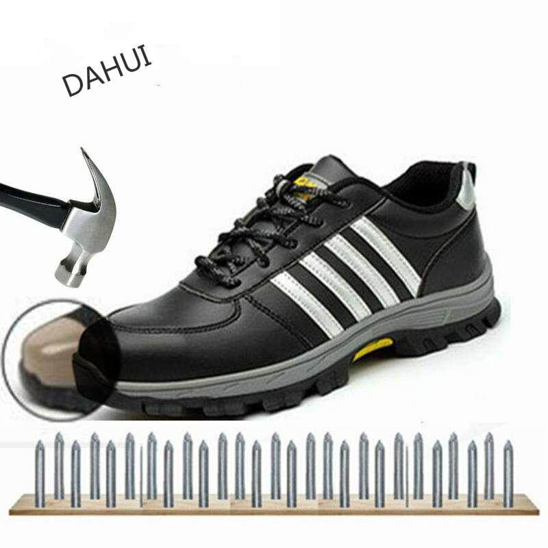 Outdoor Safety Shoes Large Size Steel Toe Cap Anti-Smashing And Piercing Work  Shoes Steel 257e1d0a6a