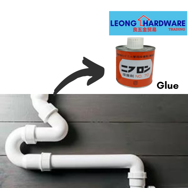 PVC Pipe Glue Solvent Gum Water Piping [100g/500gm]