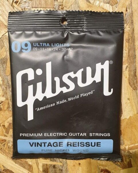 Gibson 09 Ultra Lights Electric Guitar String Tali Cable Gitar electric Guitars String Vintage Reissue # Fender ibanez Malaysia