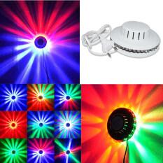 Đèn Tiệc Karaoke DJ Giáng Sinh Mini 48 Bóng LED 8W Đèn Chiếu Hướng Dương RGB Đèn Sân Khấu Sàn Nhảy Đèn Tường Nền Âm Thanh DJ