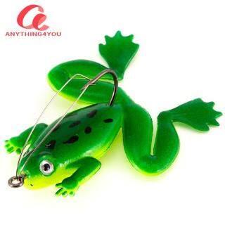 Always Lower Price Ếch Quay Sequin Bionic Câu Cá Thu Hút Thunderfrog Câu Cá Đen thumbnail