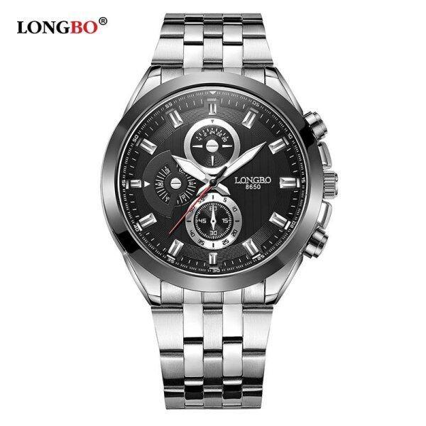 LONGBO Man Fashion Stainless Steel Strap Sport Business Quartz Watch For Men  8650 Malaysia