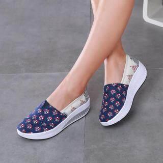 DOSREAL Nền Tảng Sneakers, Giày Vải Nữ Thường Ngày, Giày Đế Xuồng Đi Bộ Ngoài Trời Thoáng Khí Cho Nữ Người Phụ Nữ thumbnail