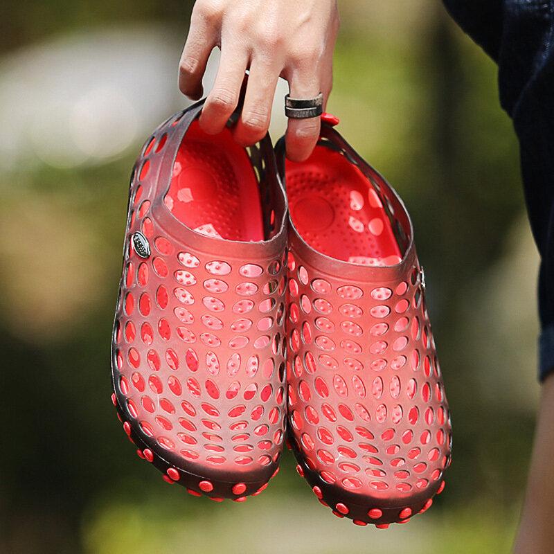 Nam Nữ Đi Biển Rỗng Giày Nhẹ Slip On Giày Sneakers Cao Cấp Bền Đẹp