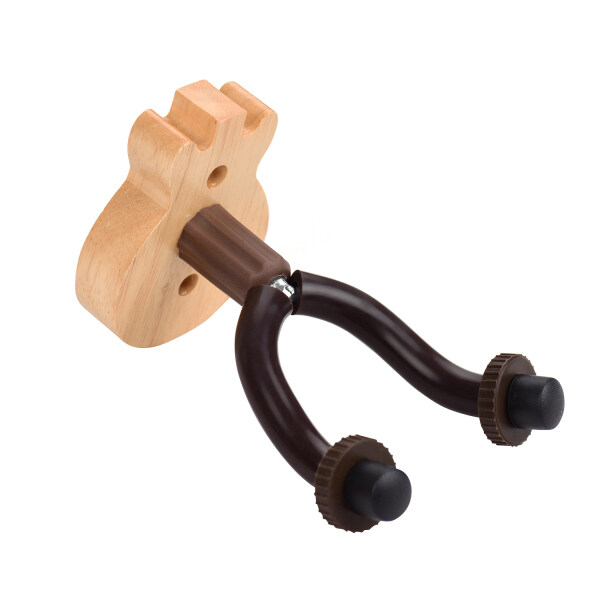Guitar Wall Mount Hanger Solid Wood Guitar Hanger Wall Hook Holder Stand with Metal Steadying Bars for Acoustic Electric Guitar Bass Ukulele Malaysia