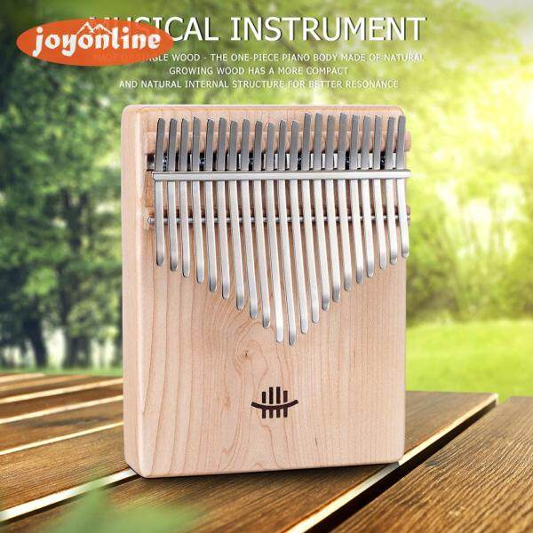 21 Keys Texture Thumb Piano Mahogany/Maple/Acacia/Walnut Kalimba with Musical Scale Bag Malaysia