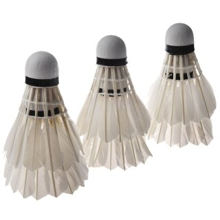 6PCS White Feather Shuttlecocks Badminton thumbnail
