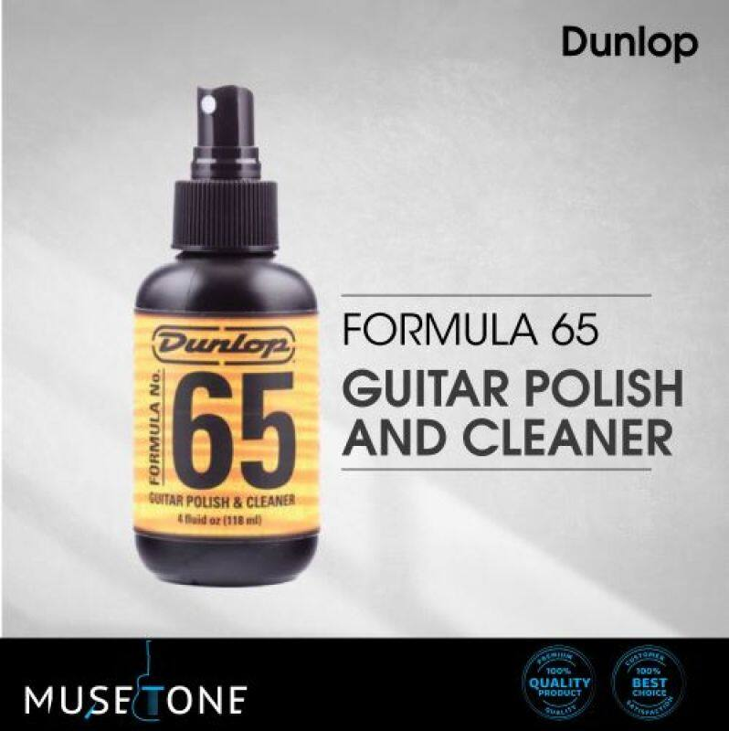 JIM DUNLOP 654SI FORMULA NO. 65 GUITAR POLISH & CLEANER 4OZ Malaysia