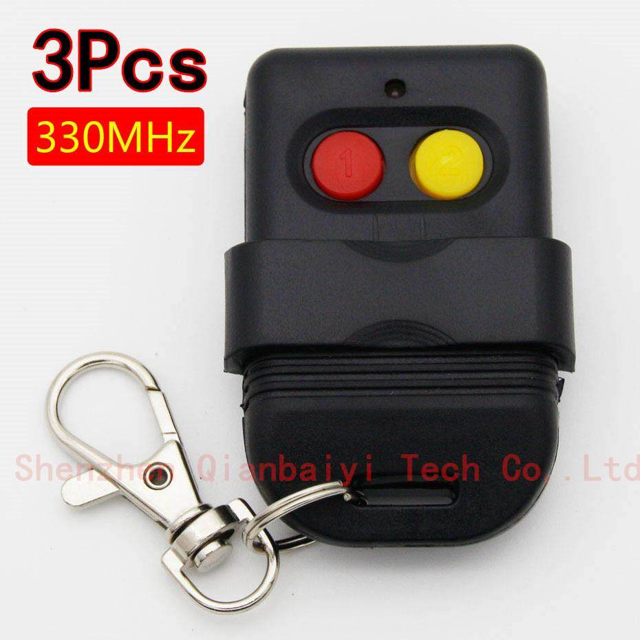 3 Singapore Malaysia 5326 330 MHz Nhúng Công Tắc Tự Động Cổng Nhân Bản Chìa Khóa Điều Khiển từ Xa Fob