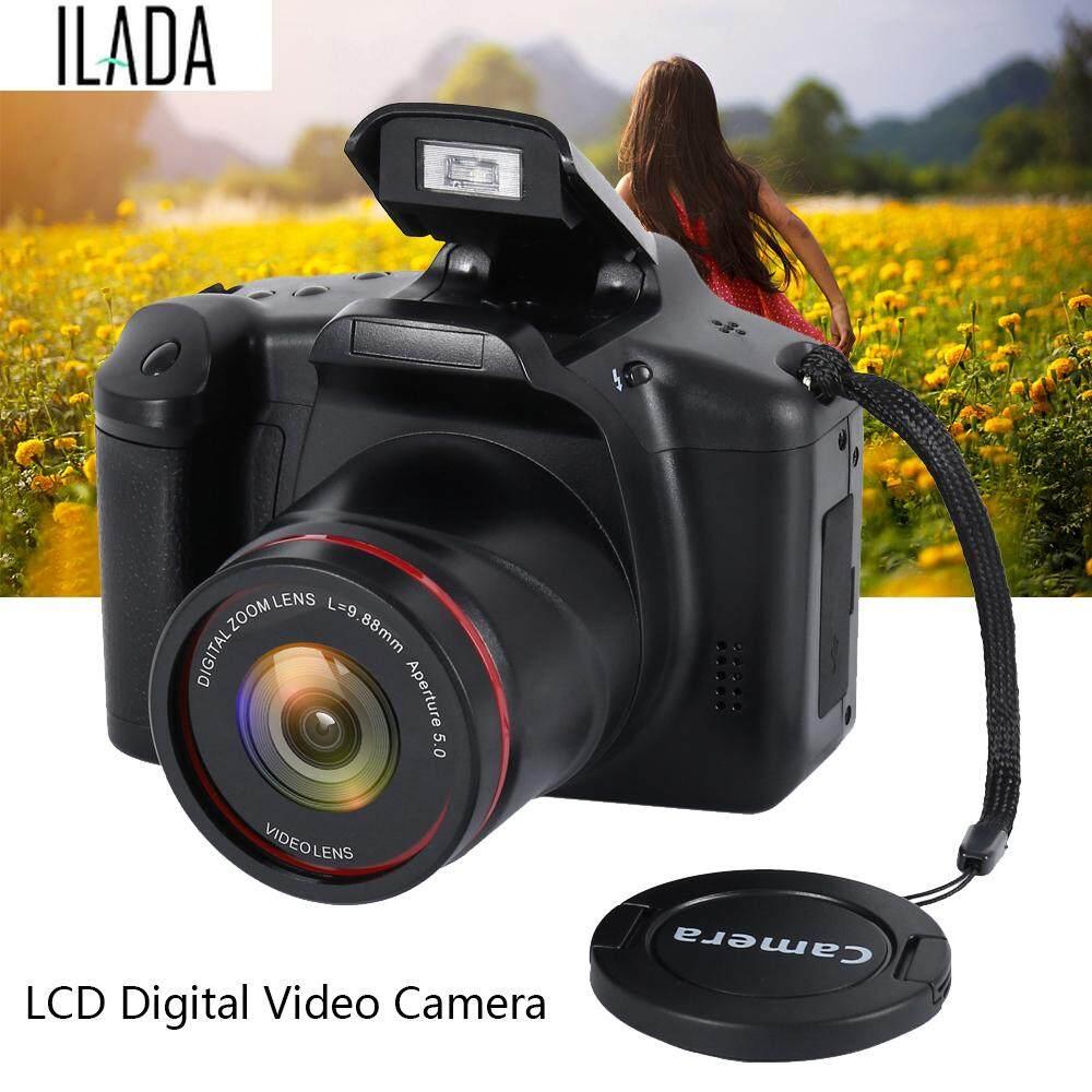 Lazada Giảm Giá Khi Mua ILADA 1080 P Màn Hình LCD 16X MÁY ẢNH SLR Kỹ Thuật Số 2.4 Inch Chống Rung