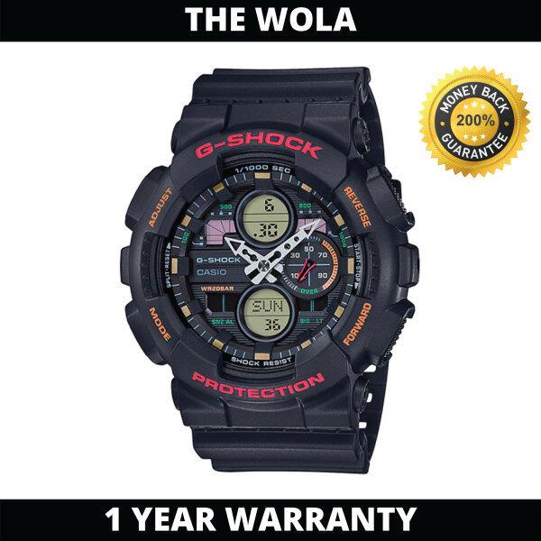 (100% Original G SHOCK) GSHOCK Men Sport Digital Watch GA-140-1A4DR (watch for man / jam tangan lelaki / G SHOCK watch for men / G SHOCK watch / men watch / watch for men) Malaysia