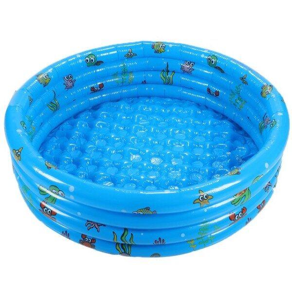 4 Layers Animal Inflatable Round Swimming Pool 1.3/1.5m Water Swimming Pool Adult Kids Children Water Swimming Pool