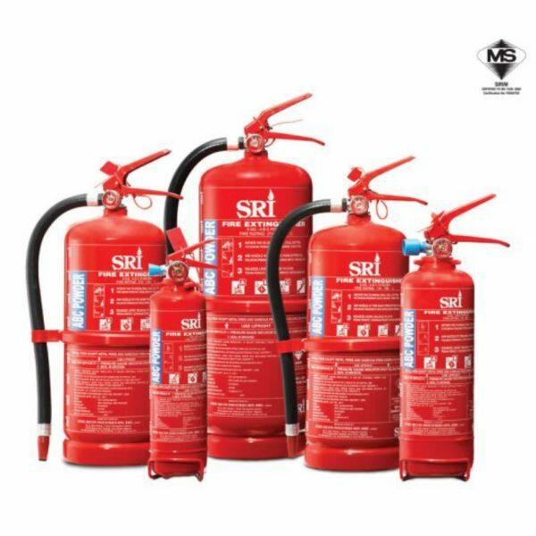 9 Kg ABC Powder Portable Fire Extinguisher