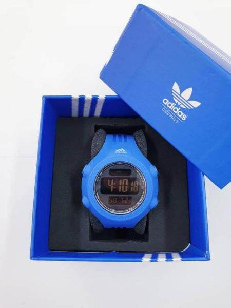 Adidas_Digital Watch rubber Strip DigitalTime Display For Unisex Casual All Colour Limited Stock Afforadable Price Malaysia