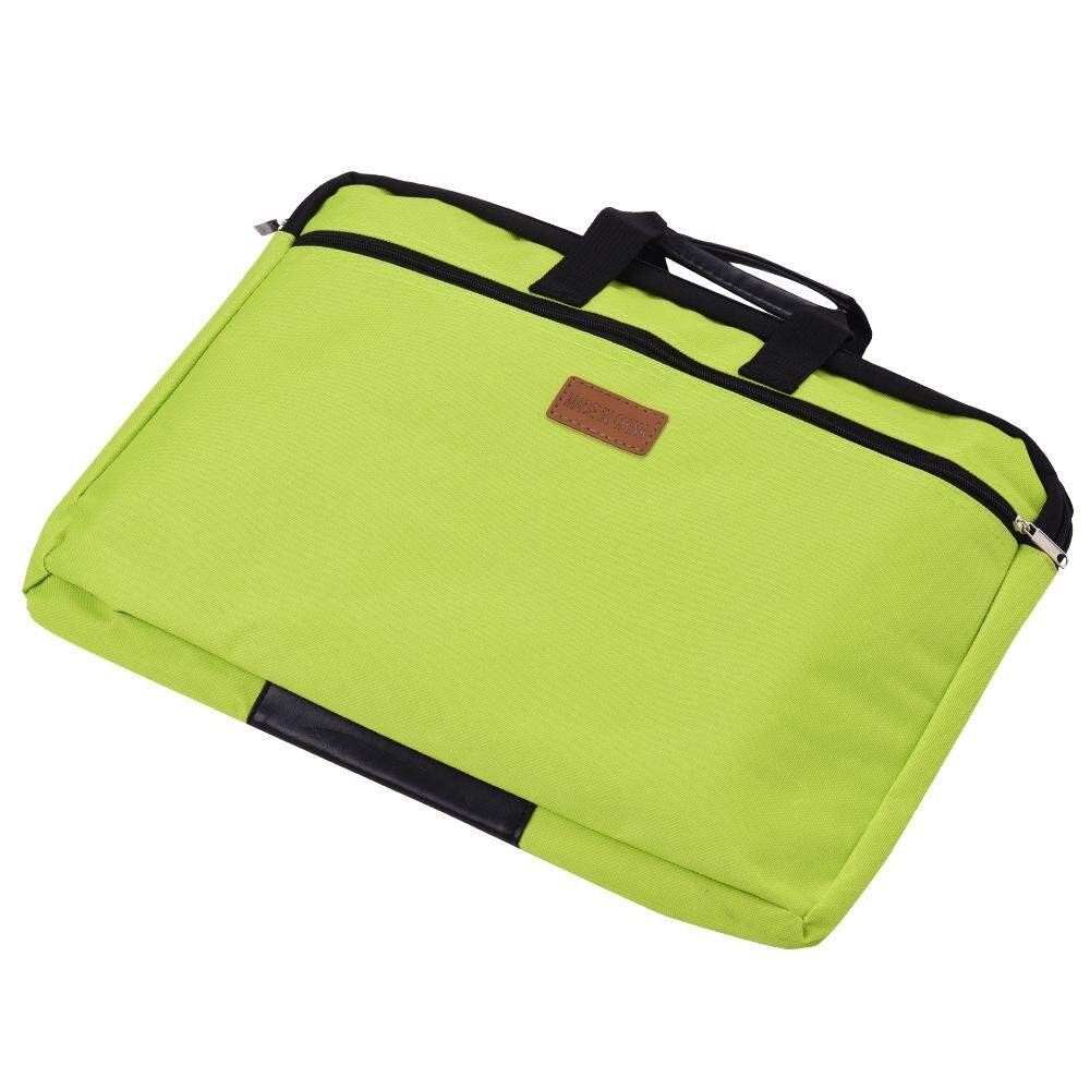 bb12a4403d Big Capacity Double Layers Document Holder Zipper File Bag with Handle  Waterproof Canvas Handbag for Papers