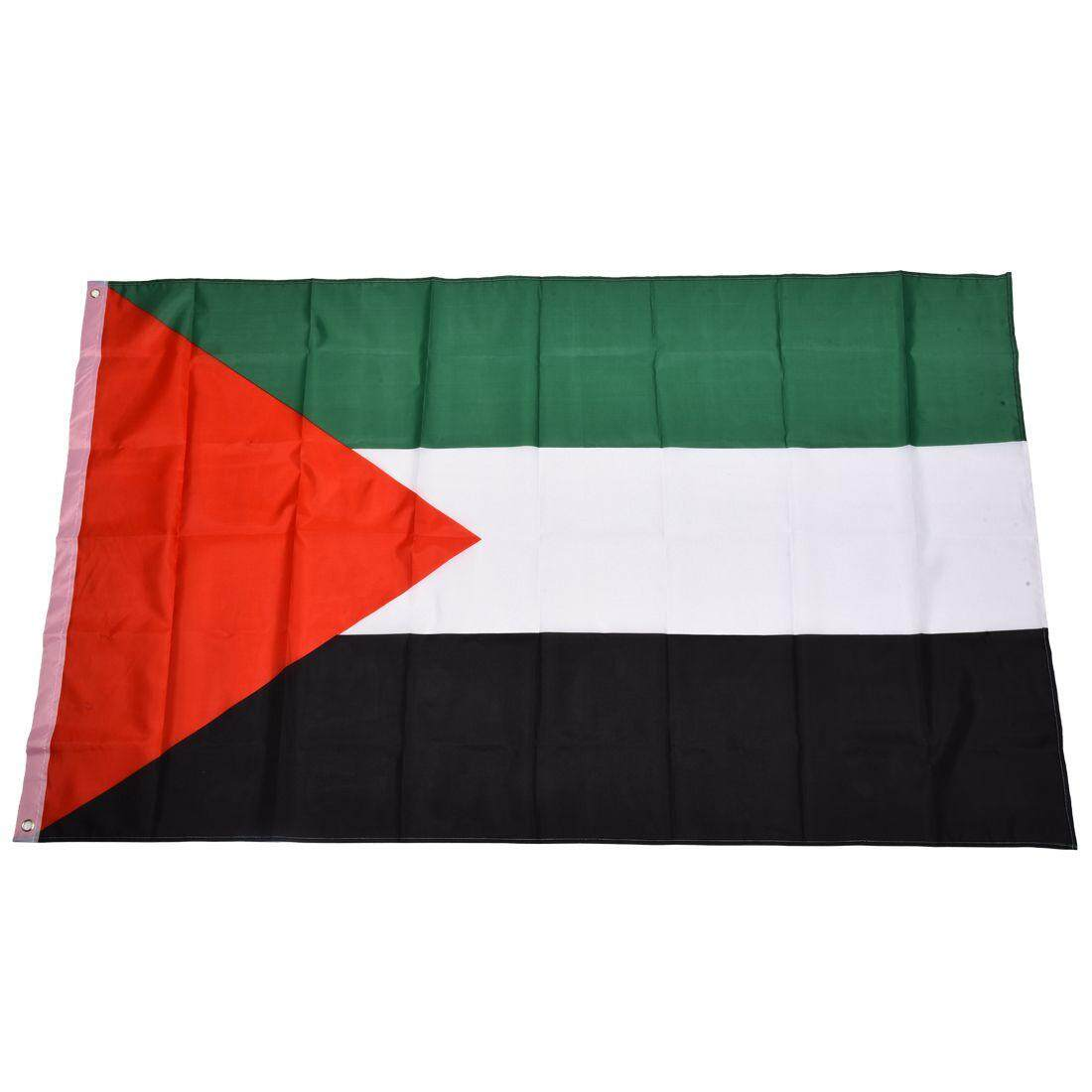 Palestine National Flag 5ft X 3ft By Benefitwen.