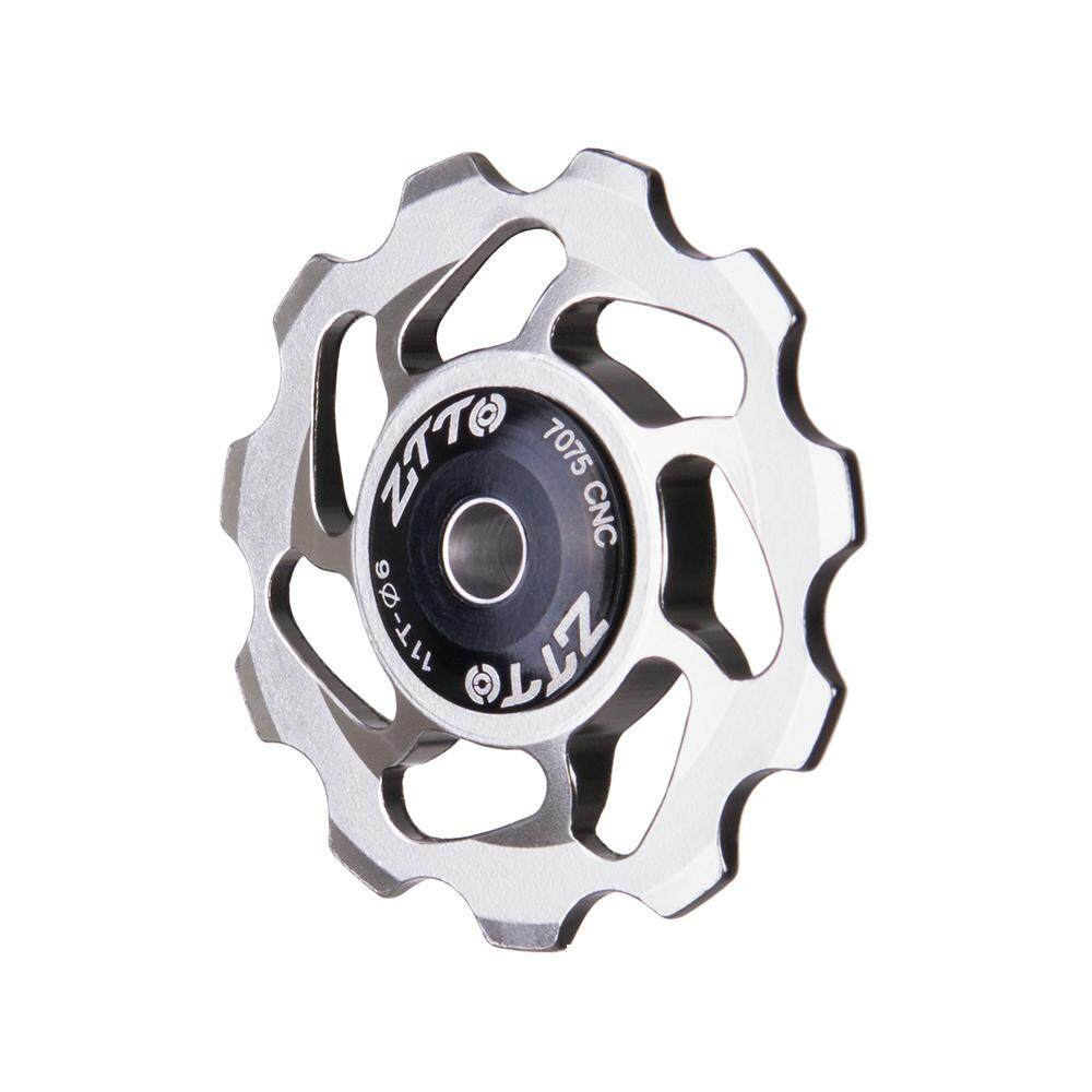 Mua 11T MTB Bicycle Rear Derailleur Jockey Wheel Ceramic Bearing Pulley Road Bike Guide Roller 4mm 5mm 6mm