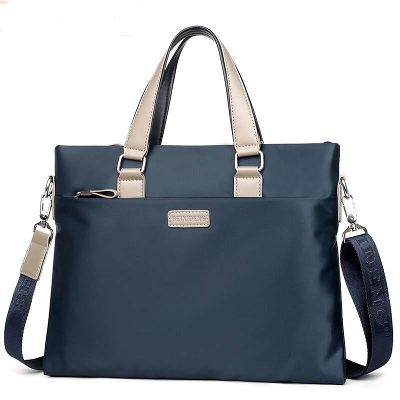 IELGY Male Oxford Spinning Bag Business Casual Shoulder Messenger Bag