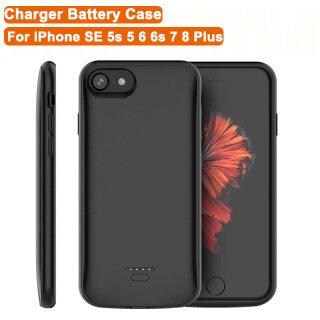 Ốp Sạc TVCC 5500MAh, Cho iPhone SE 5S 5 6 6S 7 8 Cộng Với Hộp Sạc Dự Phòng Mở Rộng Có Thể Sạc Lại Dành Cho iPhone 8 Plus 7 Plus 6S Plus 6 Plus thumbnail