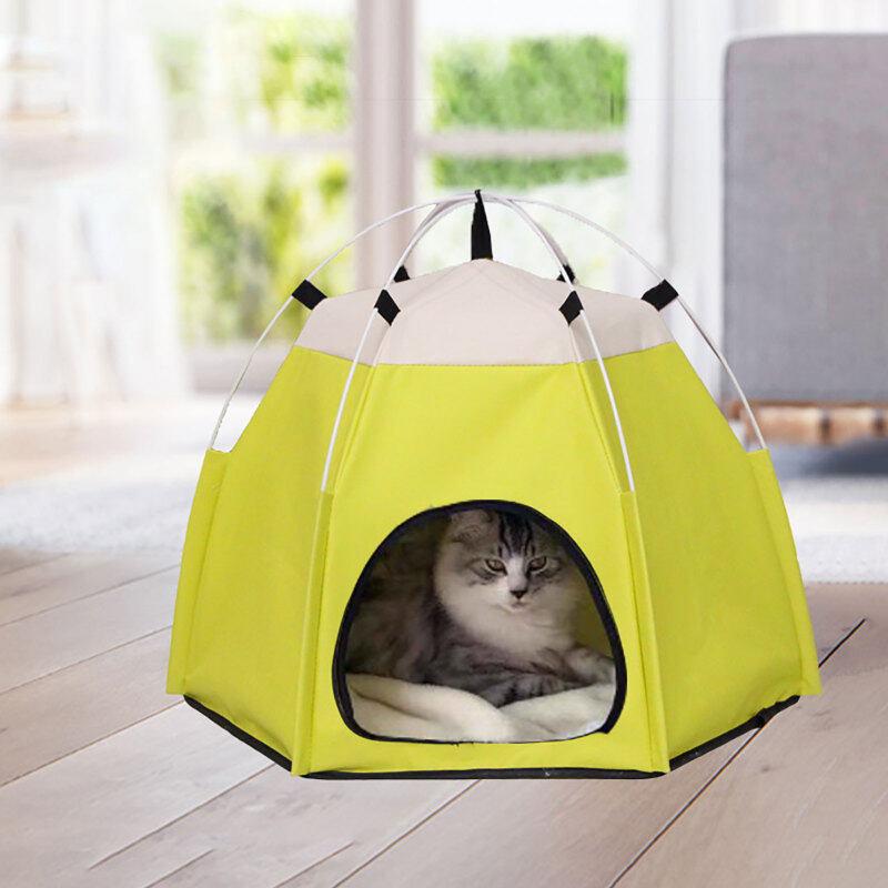 Xách Tay Có Thể Gập Lại Có Thể Rửa Dễ Thương Vật Nuôi Lều Nhà Teepee Hang Động, Cũi Chó Mèo, Trong Nhà Ngoài Trời