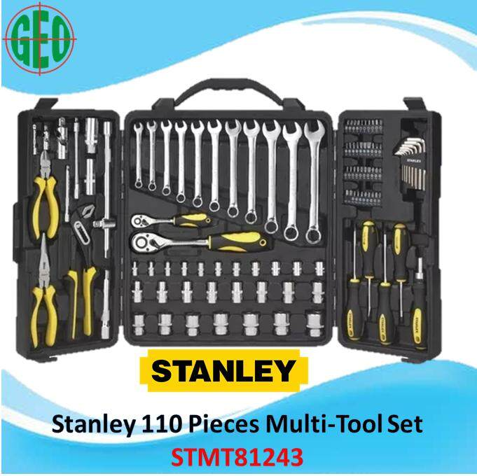 Stanley 110 PCS MULTI-TOOL SET WITH BRIEFCASE (81-243)